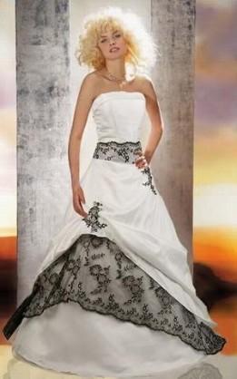 abito da sposa V5046