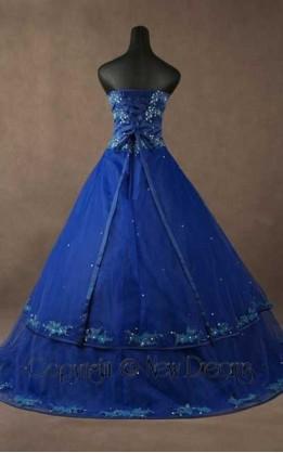 abito da sposa V5048