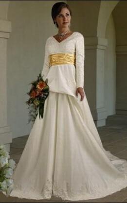 abito da sposa V5049