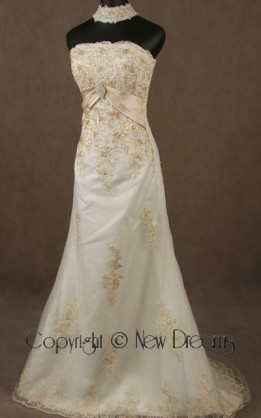 abito da sposa V5051