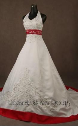 abito da sposa V5057