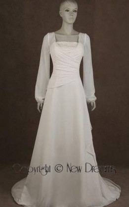 abito da sposa V5090