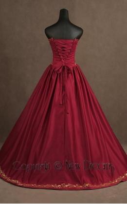 abito da sposa V5096