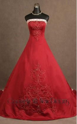 abito da sposa V5097