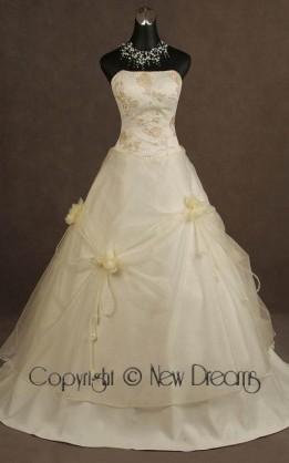 abito da sposa V5100