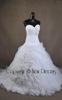abito da sposa V5117