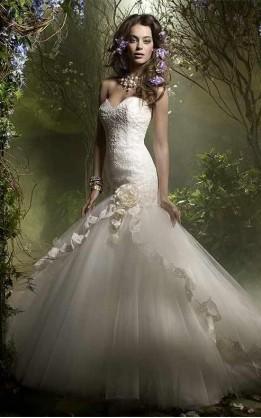 abito da sposa V5123