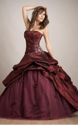 abito da sposa V5124