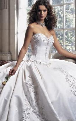 abito da sposa V5128