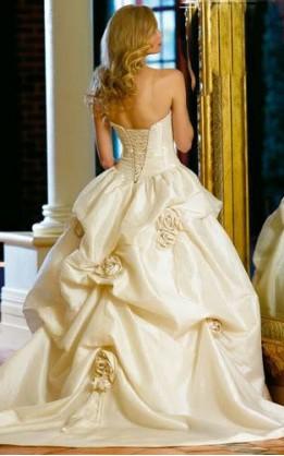 abito da sposa V5127