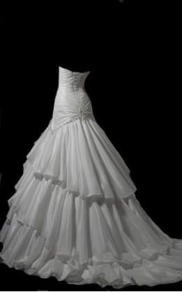 abito da sposa V5130