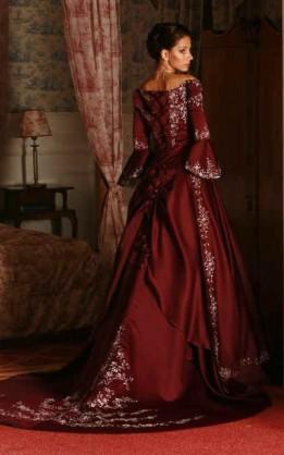 abito da sposa V5132