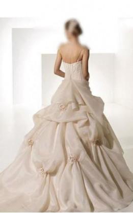 abito da sposa V5133