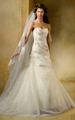 abito da sposa V5142