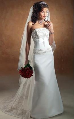abito da sposa V5156