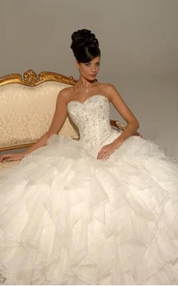 abito da sposa V5159