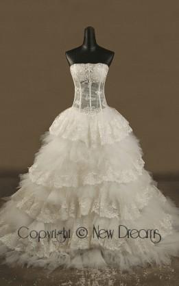 abito da sposa V5176