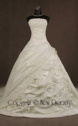 abito da sposa V5571