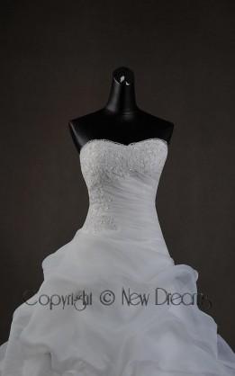 abito da sposa  V5703