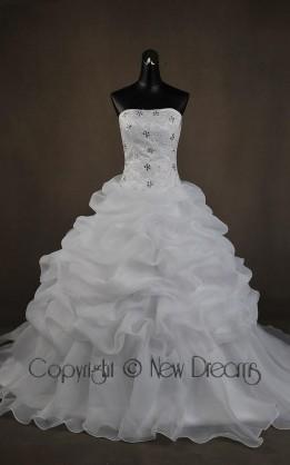 abito da sposa  V5711
