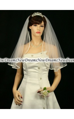 Velo sposa V100-Avorio-76cm