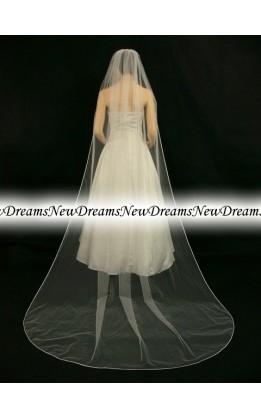 Velo sposa V116-Avorio-275 cm