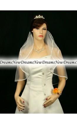 Velo sposa V137-Avorio-63 cm