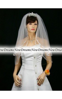 Velo sposa V138-Bianco76 cm