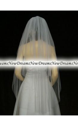 Velo sposa V20-Bianco 114 cm