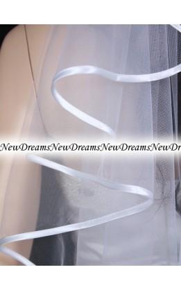 Velo sposa V197-Bianco-72 cm