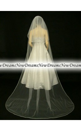 Velo sposa V227-Avorio-275 cm
