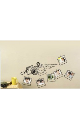 Wall sticker  frame mod 9
