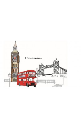 "Wall sticker ""london"""