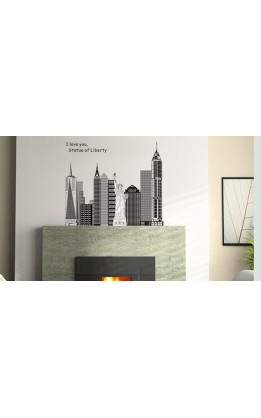 Wall sticker  NY