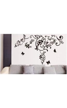 """Wall sticker """"butterfly&flower"""""""