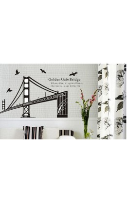 "Wall sticker ""golden gate"""