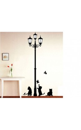 Wall sticker gattini