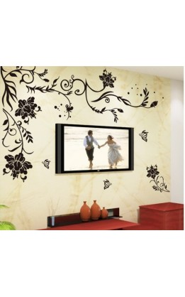 Wall sticker arabesque