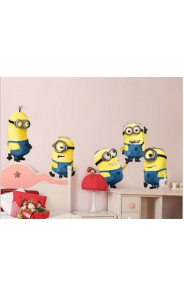 Wall sticker minions