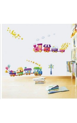 Wall sticker trenino