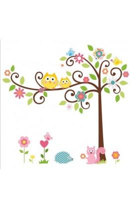 Wall sticker albero magico