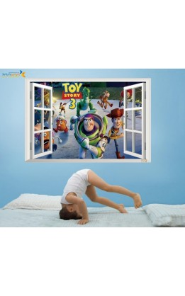 Wall sticker toystory