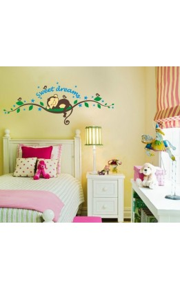Wall sticker scimmietta