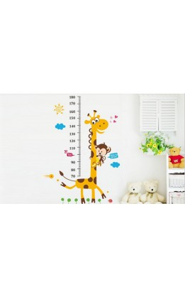 Wall sticker giraffa metro